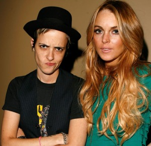 samantha-ronson-lindsay-lohan-apple