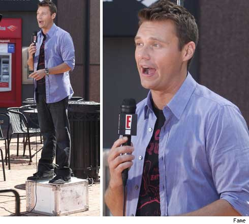 ryan seacrest on e news. E! News, Entertainment,